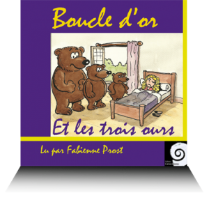 livre audio Boucle d or